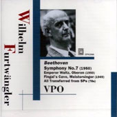 Beethoven: Symphony no 7 in A major / Furtw&auml;ngler, et al