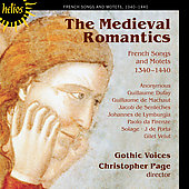 The Medieval Romantics / Christopher Page, Gothic Voices