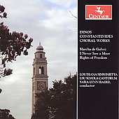 Constantinides: Choral Works / Baird, Louisiana Sinfonietta