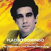 Maestro - The Legendary First Recital Recording / Pl&aacute;cido Domingo