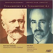 Boyer: Tchaikovsky 6.1, etc;  Tchaikovsky: Symphony no 6, etc / Golan, Moravian Philharmonic Orchestra