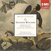 British Composers - Vaughan Williams: Symphony no 5, Serenade to Music, etc / Sargent, London SO, et al