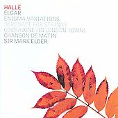 Elgar: Enigma Variations, Serenade, Cockaigne / Elder, Hall&eacute;