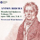 Reicha: Woodwind Quintets Op. 100 no 3 & 4 / Westwood Wind Quintet