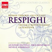 20th Century Classics - Respighi: Roman Trilogy, Gli Uccelli, etc / Mariner, Muti, Pappano, Rice, Baker, et al