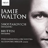 Shostakovich: Cello Concerto No. 2; Britten: Cello Symphony