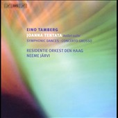 Eino Tamberg: Johanna Tentata Ballet Suite; Symphonic Dances / Jarvi