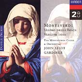 Monteverdi: Vespro della Beata Vergine 1610 / Gardiner