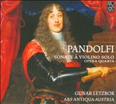 Giovanni Pandolfi: 6 Sonatas for Violin & Ensemble