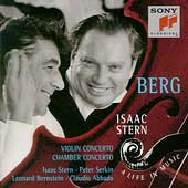 Isaac Stern - A Life In Music - Berg: Violin Concerto, etc