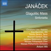 Janacek: Glagolitic Mass;Sinfonietta / Libor, Marciniec, Bentch, Gierlach