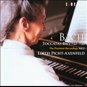 Johann Sebastian Bach: Toccatas / Edith Picht-Axenfeld