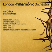Dvorak: Stabat Mater / Janice Watson, Dagmar Peckova, Peter Auty, Peter Rose - Neeme Jarvi