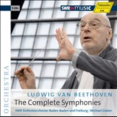Beethoven: Complete Symphonies / Michael Gielen [5 CDs]
