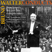 Bruno Walter Conducts Bruckner's 4th and 9th Symphonies / NBC (1940) & Philadelphia (1948) Orchestras