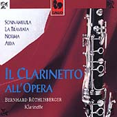 Il clarinetto all'opera / Röthlisberger, Andres