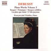 Debussy: Piano Works Vol 3 / François-Joël Thiollier