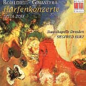 Bo&#239;eldieu, Ginastera: Harfenkonzerte / Zoff, Kurz, et al