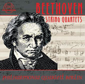 Beethoven: The String Quartets / Philharmonia Quartett Berlin [8 CDs]