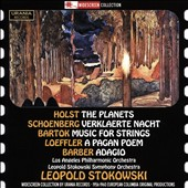 Holst: The Planets; Schoenberg: Verklaerte Nacht; Bartok: Music for Strings, Percussion & Celesta; Loeffler: A Pagan Poem  / Leopold Stokowski (rec. 1956-60)