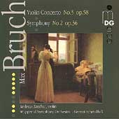 Bruch: Violin Concerto no 3, Symphony no 2 / Schmalfuss