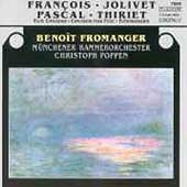 Jolivet, Pascal, et al: Flute Concertos / Fromanger, Poppen
