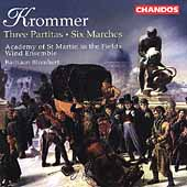 Krommer: Three Partitas, Six Marches / Blomhert, et al