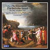 Telemann: Das befreite Israel / Hermann Max, et al