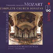 Mozart: Complete Church Sonatas / Angerer, Elisabeth Ullmann