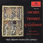 Satires, Desires & Excesses / New Orleans Musica da Camera