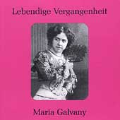 Lebendige Vergangenheit - Maria Galvany