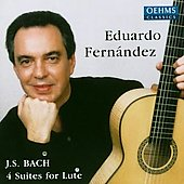 Bach: Four Suites for Lute / Eduardo Fernández
