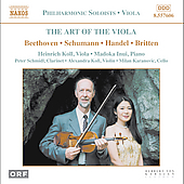 The Art of the Viola / Koll, Inui, Schmidl, et al