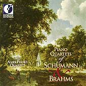 Piano Quartets of Schumann & Brahms / The Ames Piano Quartet