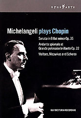 Chopin / Michelangeli Plays Chopin [DVD]
