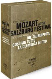 Opera Exclusive - Mozart at the Salzburg Festival [6 DVD]