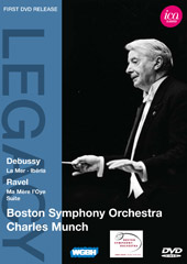 Ravel: Ma Mere L'Oye Suite; Debussy: La Mer / Munch/Boston SO [DVD]
