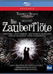 Mozart: The Magic Flute / Boer, Pirgu, Kuhmeier, Esposito, Tynan [Blu-Ray]