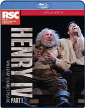 William Shakespeare: Henry IV, Part I / Royal Shakespeare Company; Gregory Doran [Blu-Ray]