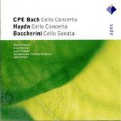 Bach C.p.e: Cello Concerto In A/Haydn: Cello Concerto Hob. Viib:2/Boccherini: Ce