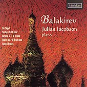 Balakirev: Skylark, Sonata in B flat minor, etc / Jacobson