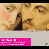 Monteverdi: Quinto libro de madrigali / Alessandrini, et al