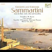 Giuseppi & Giovanni Sammartini: Notturnos & Six solos