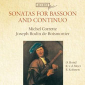Sonatas for Bassoon and Continuo