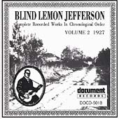 Blind Lemon Jefferson: Complete Recorded Works, Vol. 2 (1927)