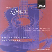 Antoine De Lhoyer: Music For Two Guitars, Vol. 2