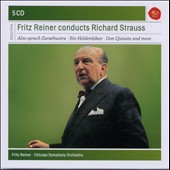 Fritz Reiner Conducts R. Strauss / Zarathustra, Don Quixote, Don Juan, Elektra, Rosenkavalier & Salome highlights et al. [5 CD]