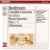 Beethoven: Complete Concertos Vol 1 / Kovacevich, Grumiaux