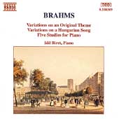 Brahms: Variations for Piano / Idil Biret