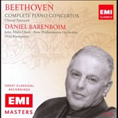 Beethoven: Complete Piano Concertos / Klemperer, Barenboim
